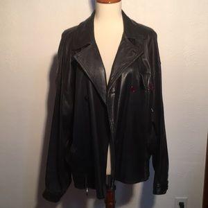 Giorgio Armani leather jacket